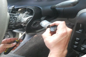 Ignition lock cylinder replacement